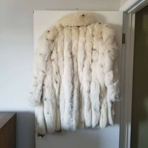 Fur Coat from Finland Jackets & Coats - Fox Fur Coat Woman's from Finland Large